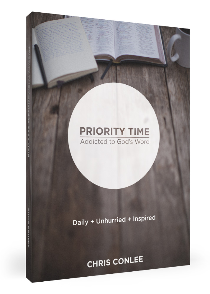 Priority Time: Addicted Gods Word by author Chris Conlee