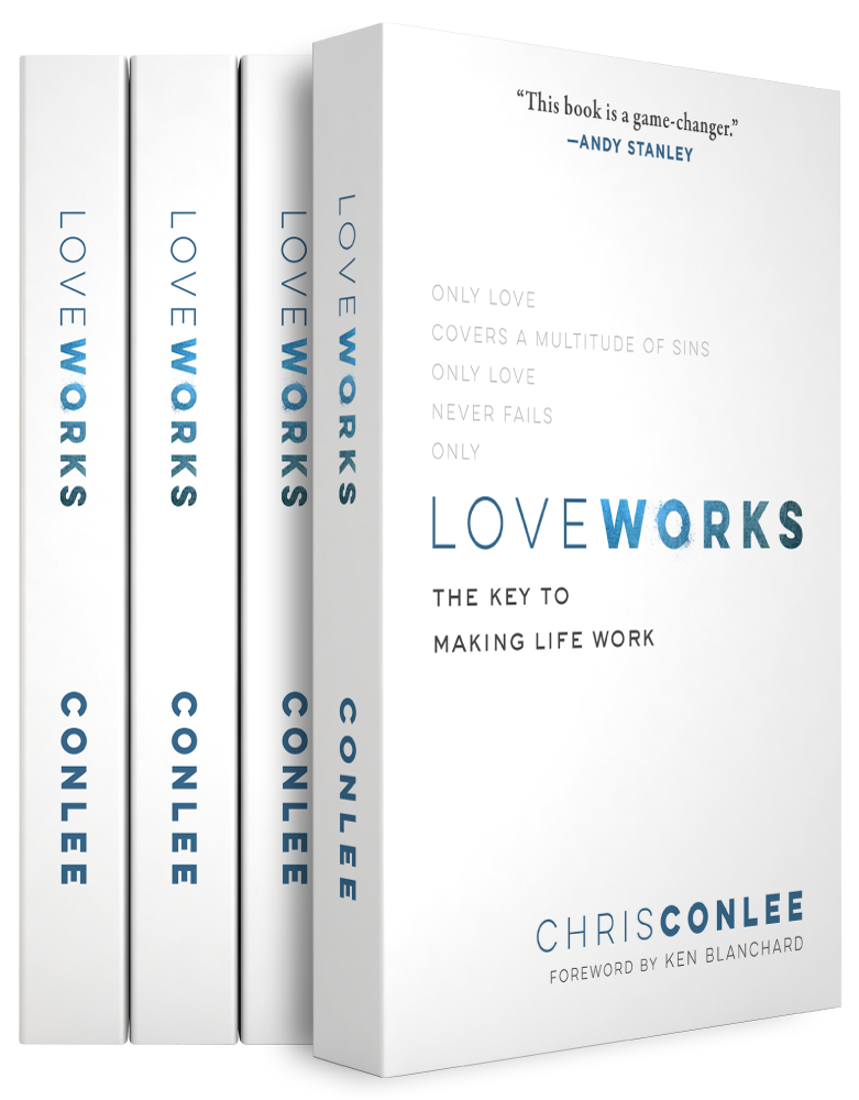 Love Works: They Key to Making Life Work by Author Chris Conlee